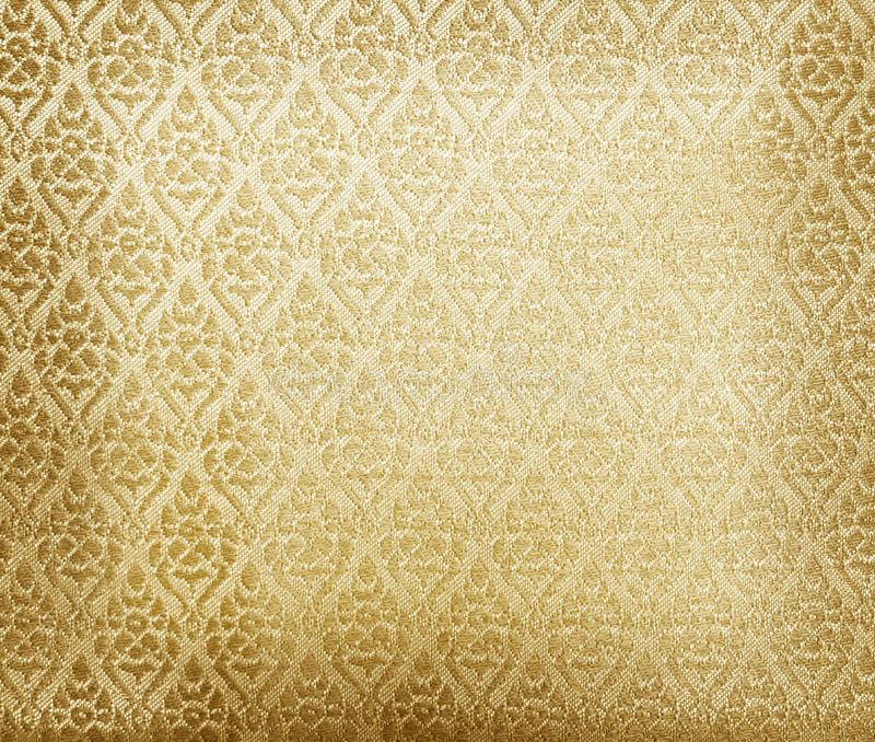 Download Floral Wallpaper Pattern Light Yellow Abstract Stock Illustration