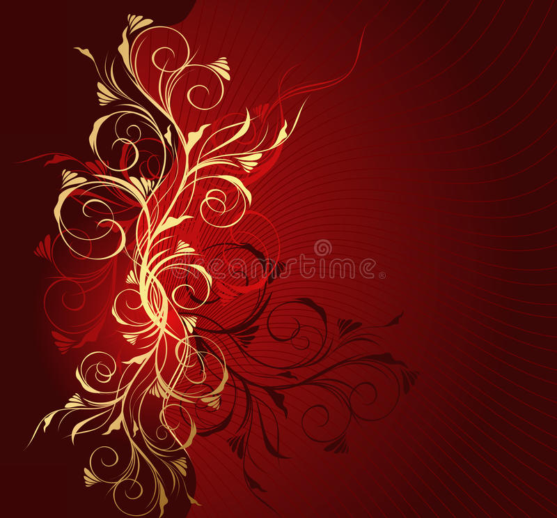 Free Floral Wave Royalty Free Stock Photo - 13450945
