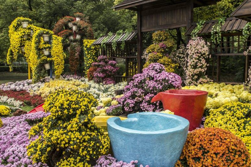 Floralies photographie stock libre de droits