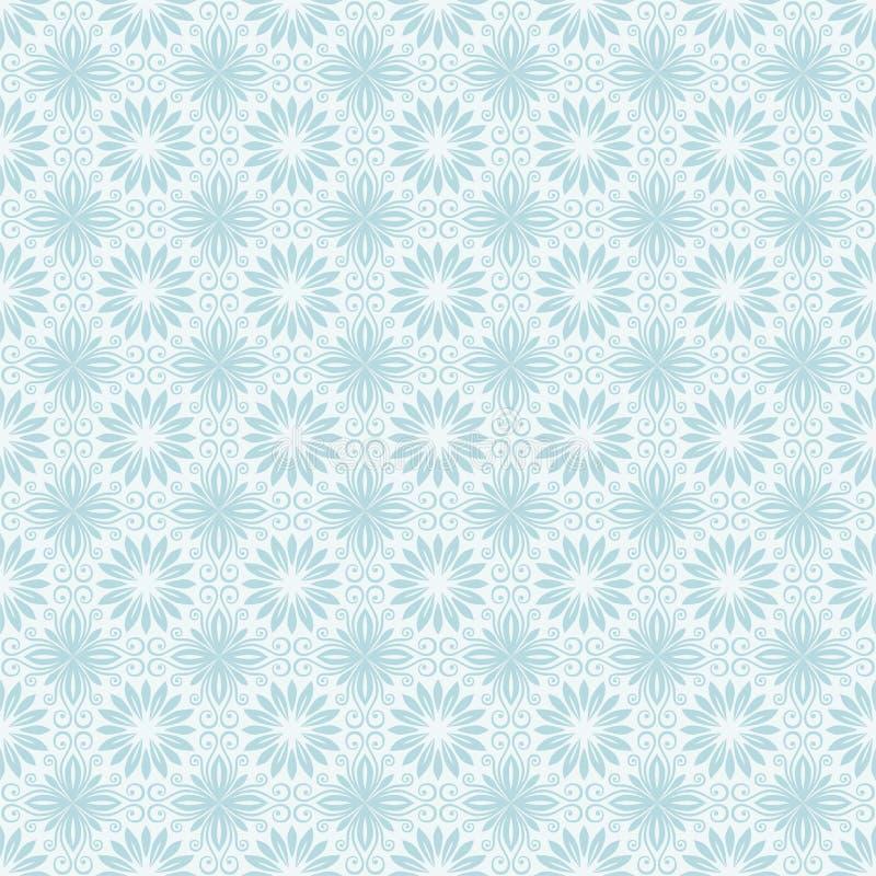 Florall无缝的样式 皇族释放例证
