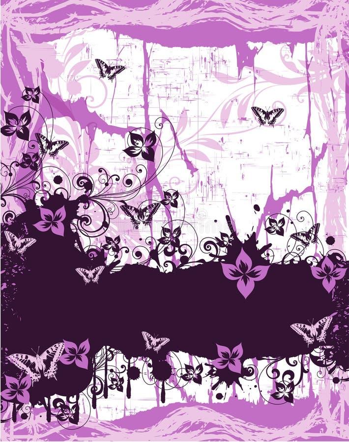 FloralRed ilustração stock