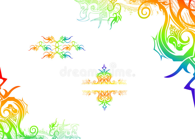 Download Floreale illustrazione vettoriale. Illustrazione di background - 7322567
