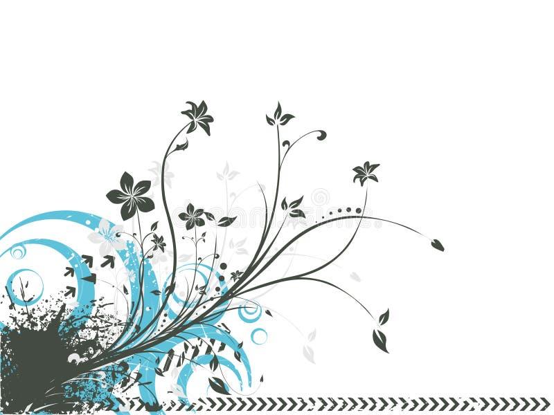 Floreale Funky illustrazione vettoriale
