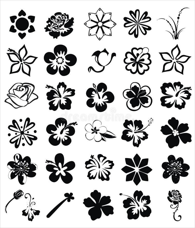 Florece imágenes stock de ilustración