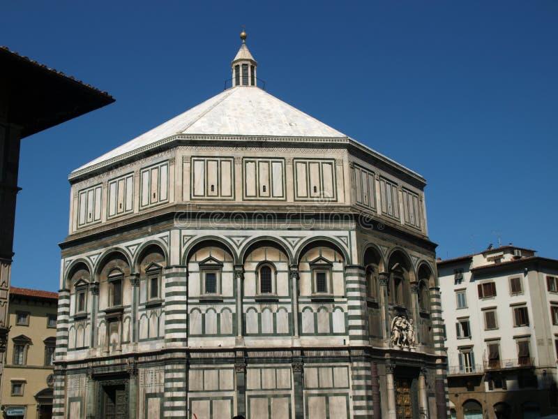 Florença - Baptistery foto de stock