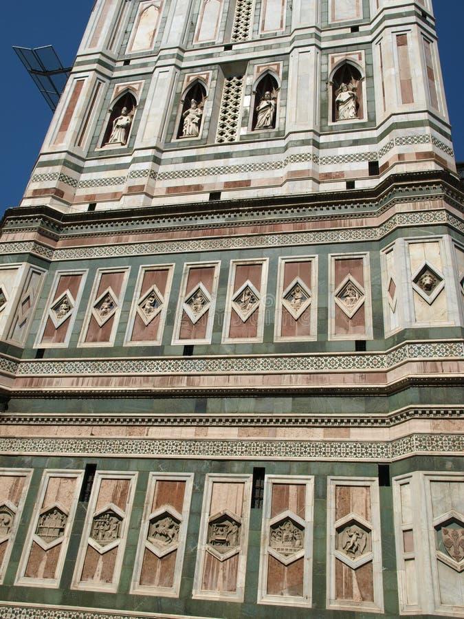 Florença - Campanile fotografia de stock royalty free