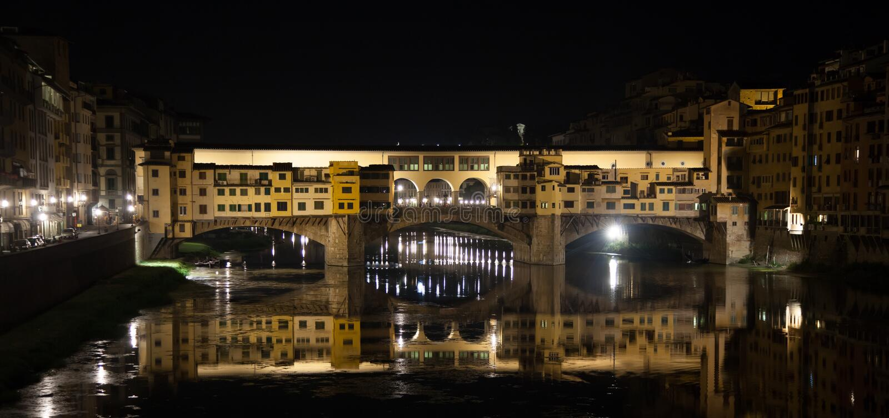 Florença, Ponte Vecchio foto de stock