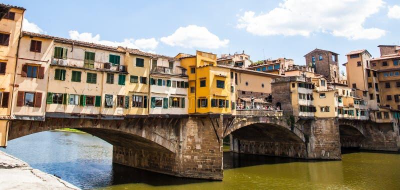 Florença, Ponte Vecchio fotos de stock royalty free