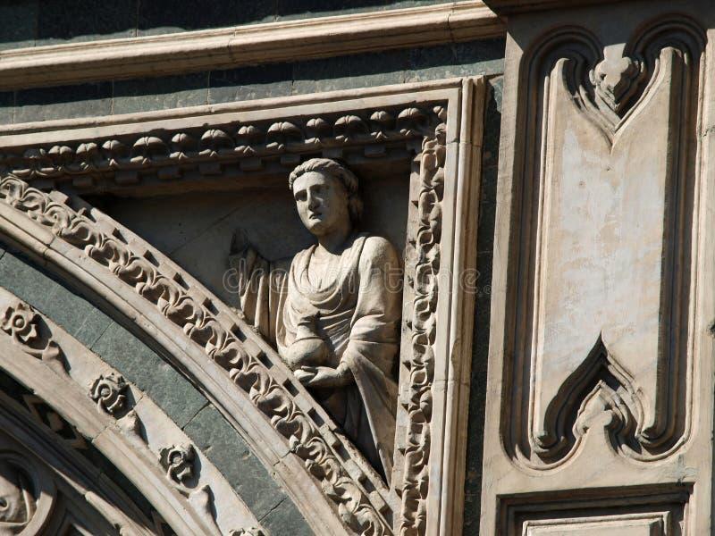 Download Florença - Santa Maria Del Fiore Foto de Stock - Imagem de sculpture, elaborado: 12808336