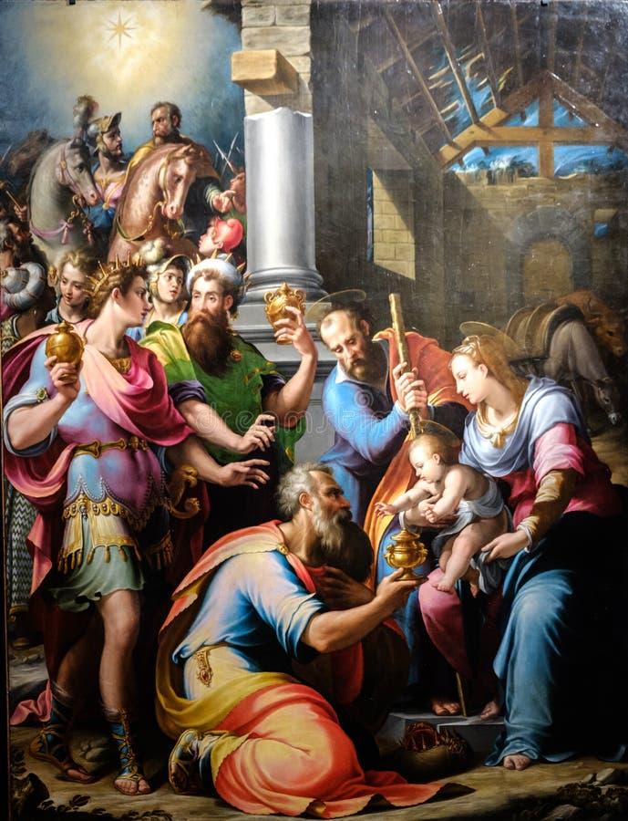 Florença, Toscânia, Italia, Europa, strozzi do palazzo imagem de stock royalty free