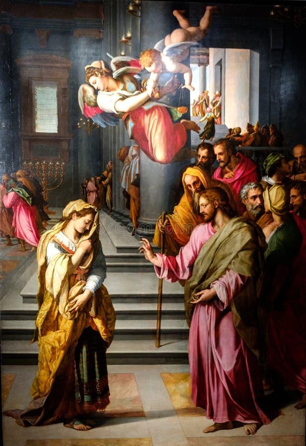 Florença, Toscânia, Italia, Europa, strozzi do palazzo imagens de stock