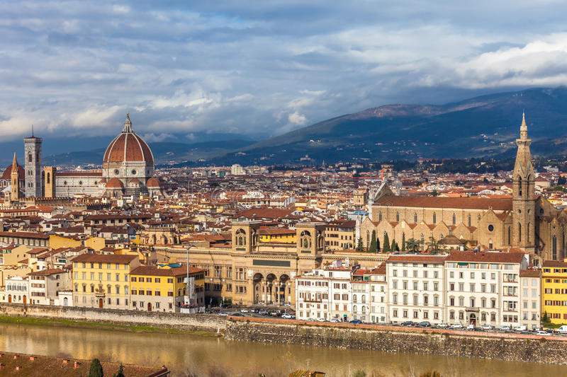 Download Florence stock image. Image of town, croce, travel, river - 28798869