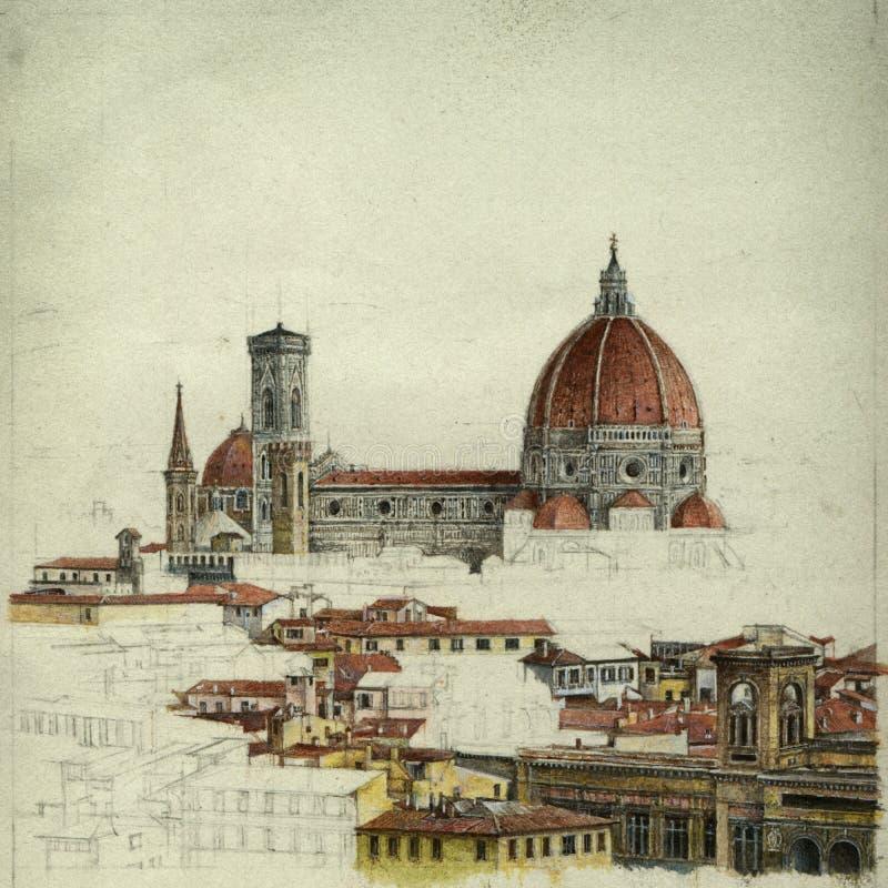 Florence illustration de vecteur