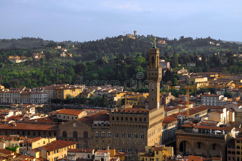 Download Florence aerial, Italy stock image. Image of skyline - 24999381