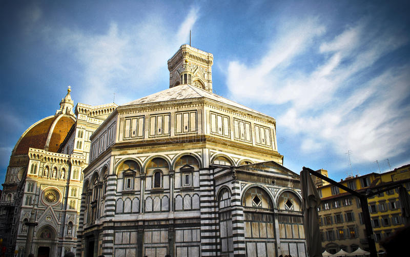 Florence Baptistery fotografia de stock
