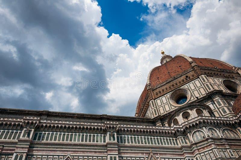 Florence berömd gränsmärke arkivbild