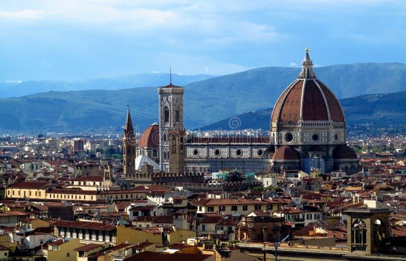 Florence Cathedral Basilica di Santa Maria del Fiore imagen de archivo libre de regalías