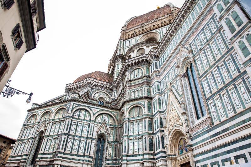 Florence Cathedral bonita consagrou em 1436 imagem de stock