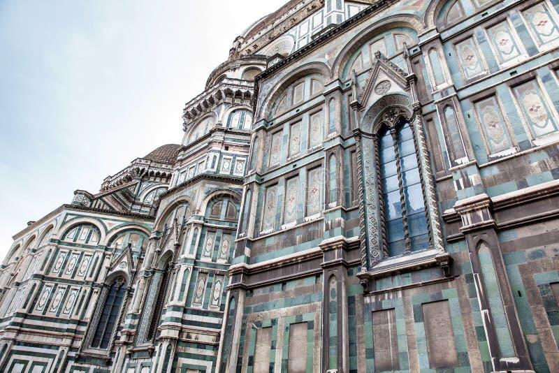 Florence Cathedral bonita consagrou em 1436 imagens de stock