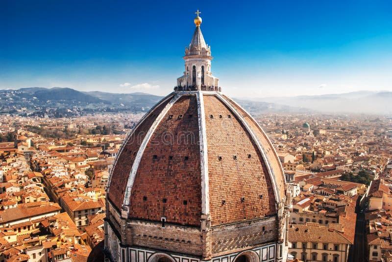 Florence Cathedral, Brunelleschi imagem de stock