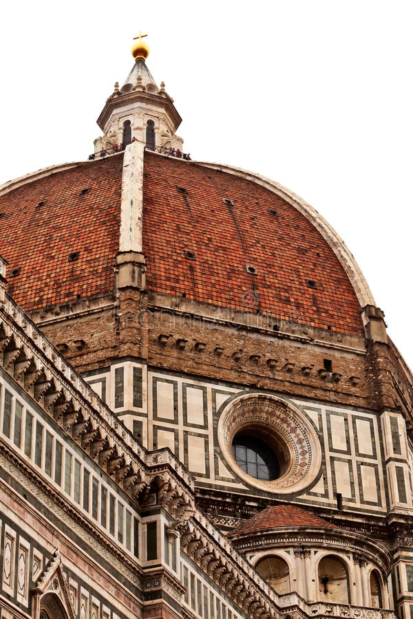 Download Florence cathedral dome. stock image. Image of green - 16223393