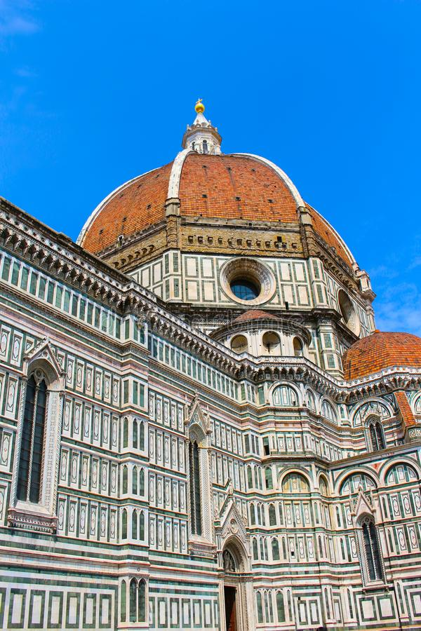 Florence Cathedral, una chiesa in Italia immagine stock