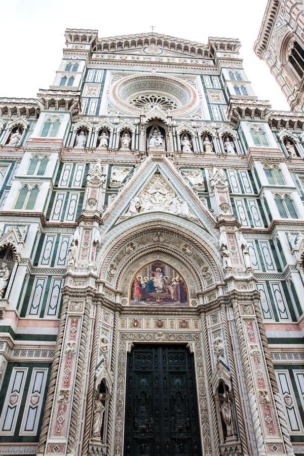 Florence Cathedral widmete im Jahre 1436 lizenzfreies stockfoto
