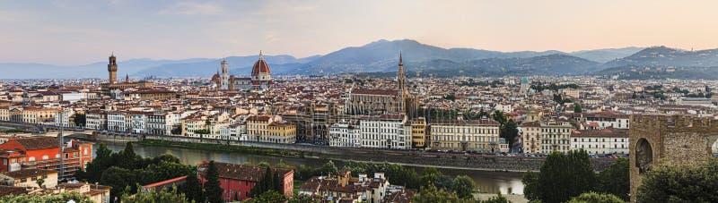 Florence City-stijgingspan stock foto's