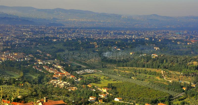 Download Florence City View From Above , Italy Stock Image - Image: 16168273