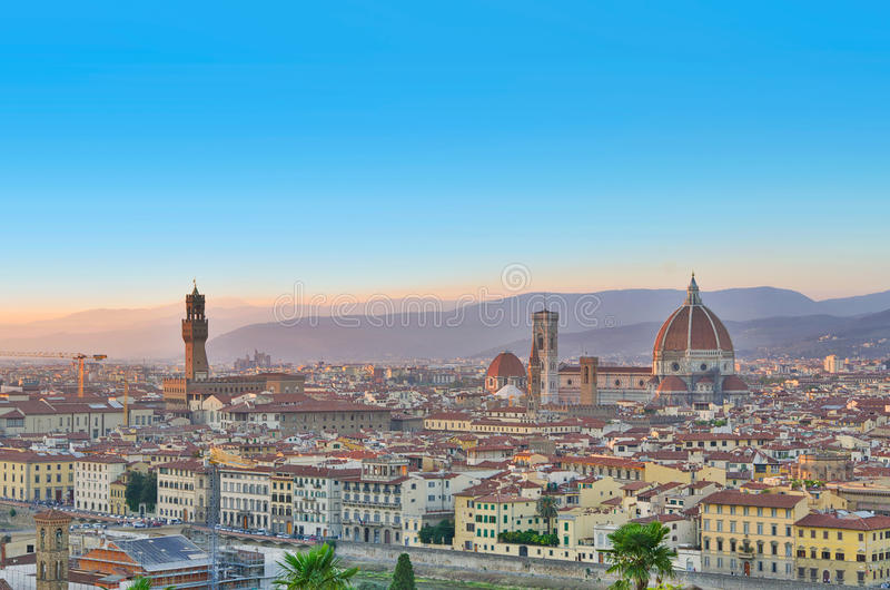 Download Florence city view, Italy stock image. Image of dome - 22085221