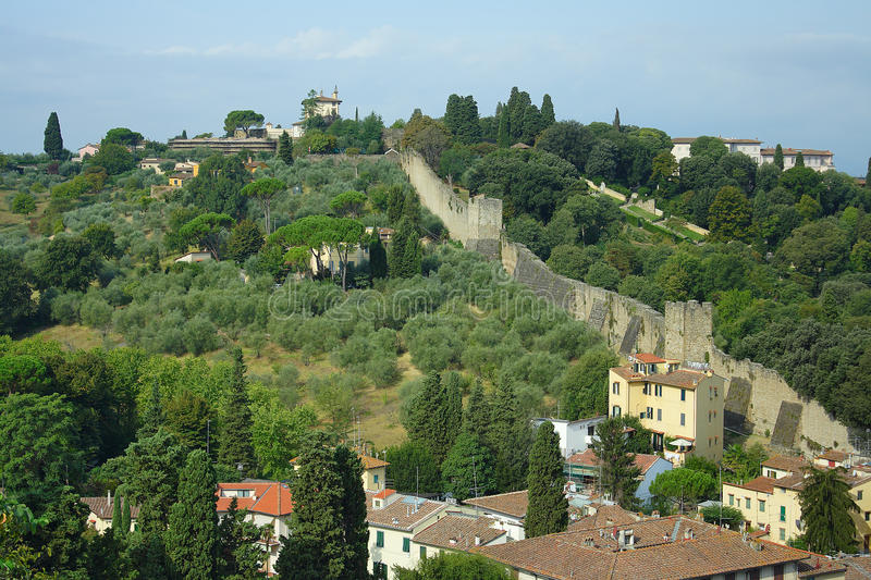 Download Florence, the city wall stock photo. Image of home, stone - 22571458