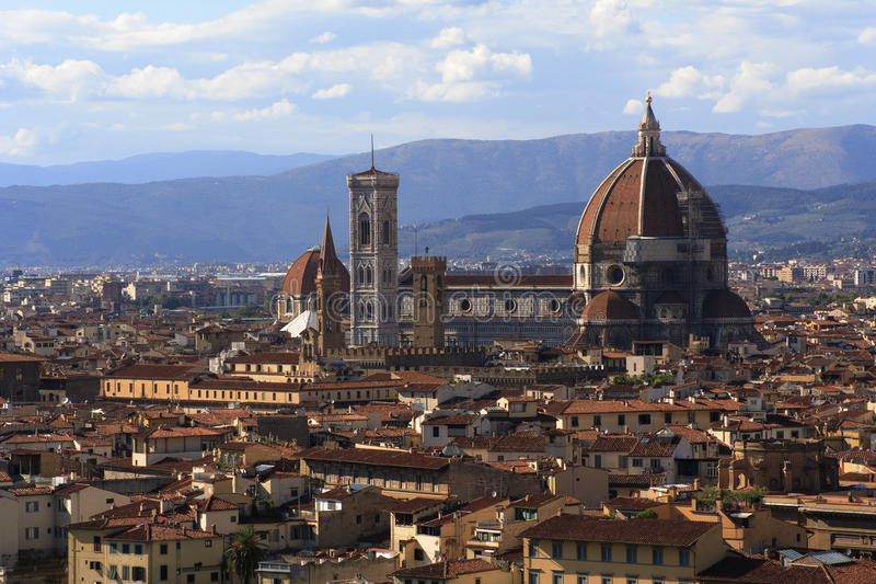 Florence by day stock images