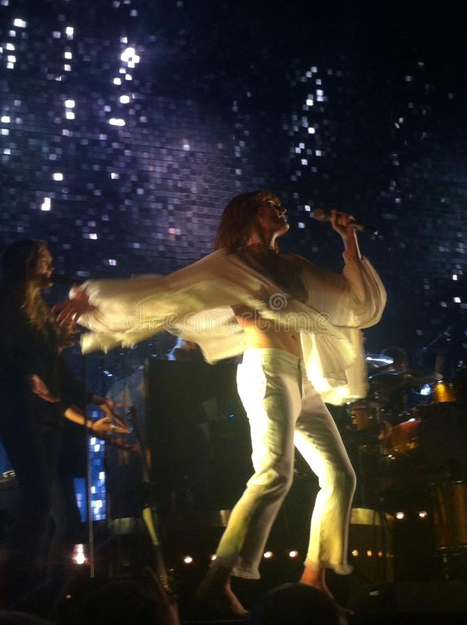 Florence + de Machine royalty-vrije stock fotografie