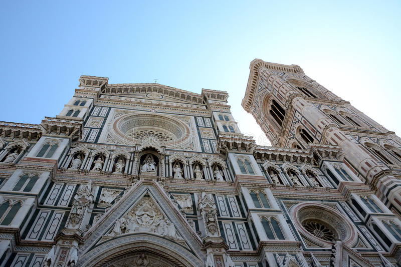 Florence dome facade royalty free stock images