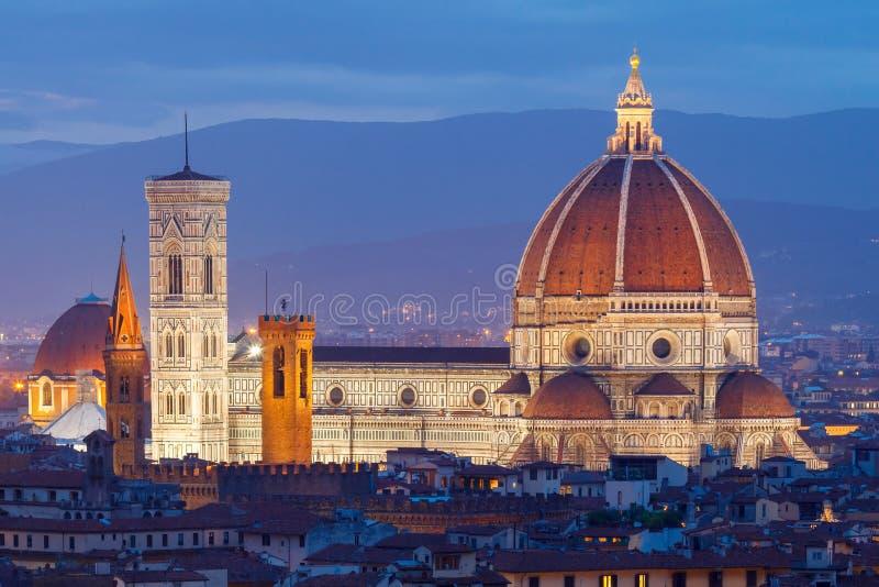 Florence Duomo arkivbilder