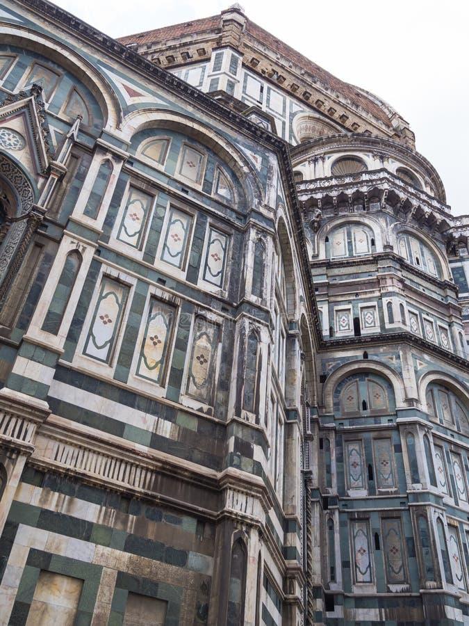 Florence Duomo Basilikadi Santa Maria del Fiore Basilica av St Mary av blomman i Florence, Italien fotografering för bildbyråer