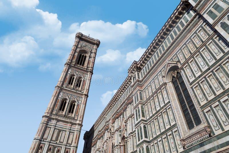 Florence Duomo Belfry stock afbeeldingen