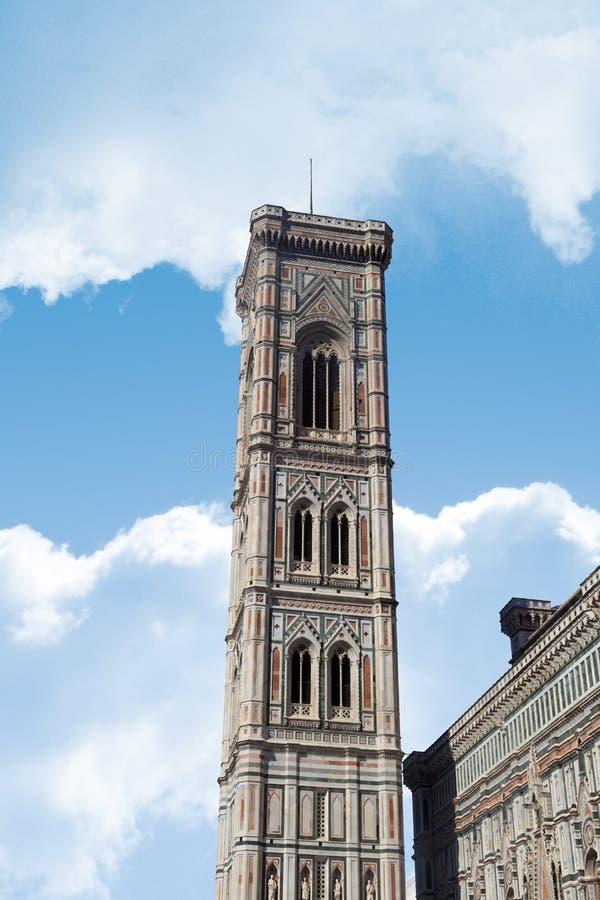 Florence Duomo Belfry stock fotografie