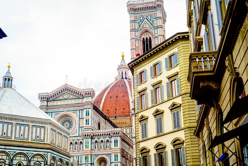 Florence Duomo Cathedral stock images