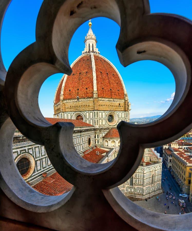 Florence Duomo Di Santa Maria del Fiore Basilica de la basílica de St Mary de la flor en Florencia imágenes de archivo libres de regalías