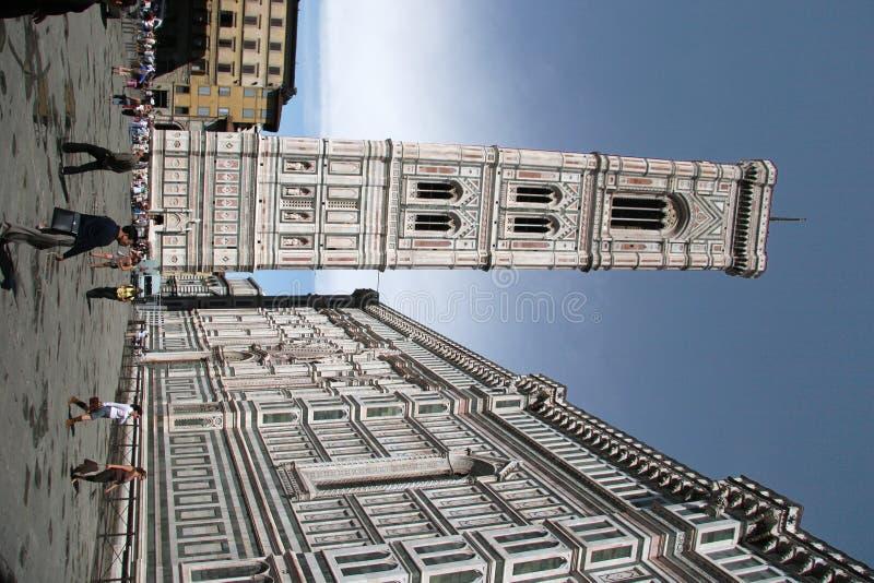 Florence dzwonnica baptysterium zdjęcia stock