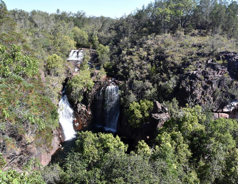 The Florence Falls Karrimurra is a segmented waterfall on the Florence Creek stock images