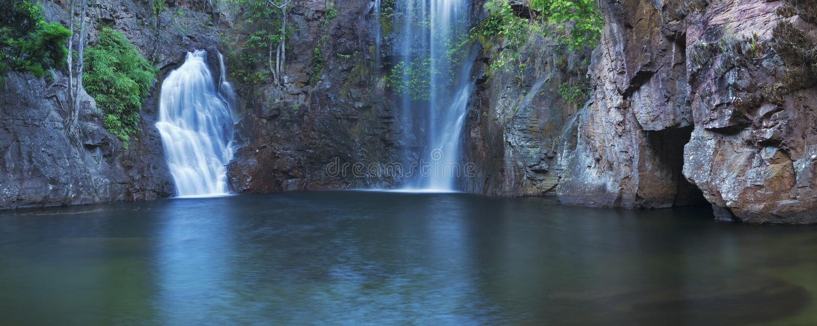 Florence Falls in Litchfield National Park, Australia royalty free stock photo