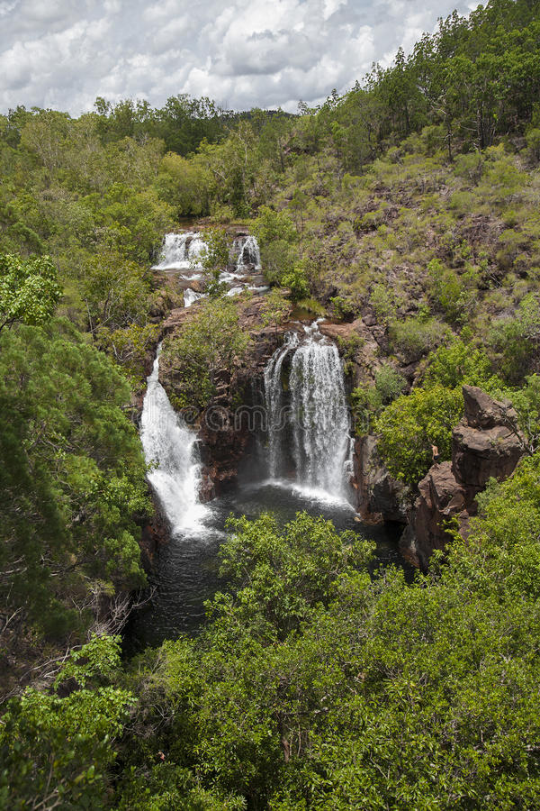 Florence Falls, Litchfield National Park, Northern Territory, Australia stock image