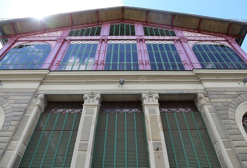 Florence, FI, Italië - Augustus 20, 2015: De bouw van Markt van Sai royalty-vrije stock afbeeldingen
