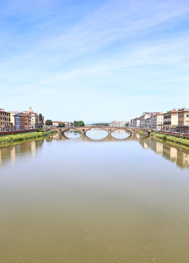 Florence or Firenze city landscape Italy stock photography