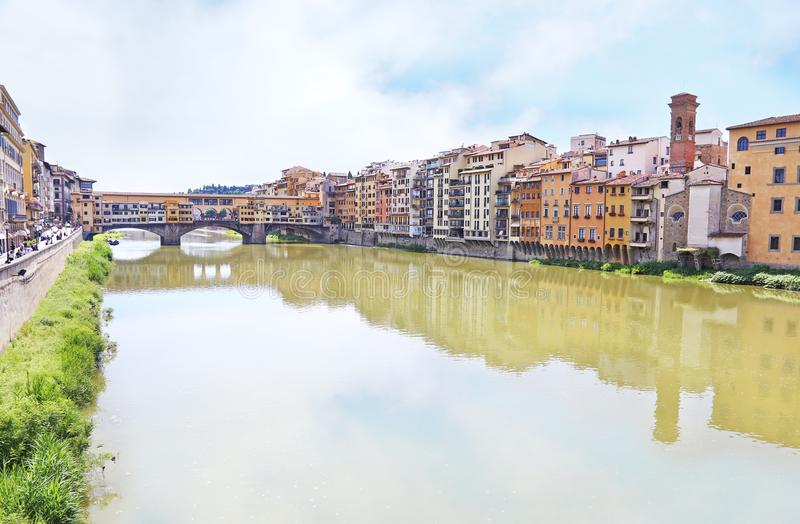 Florence or Firenze city landscape Italy royalty free stock photography