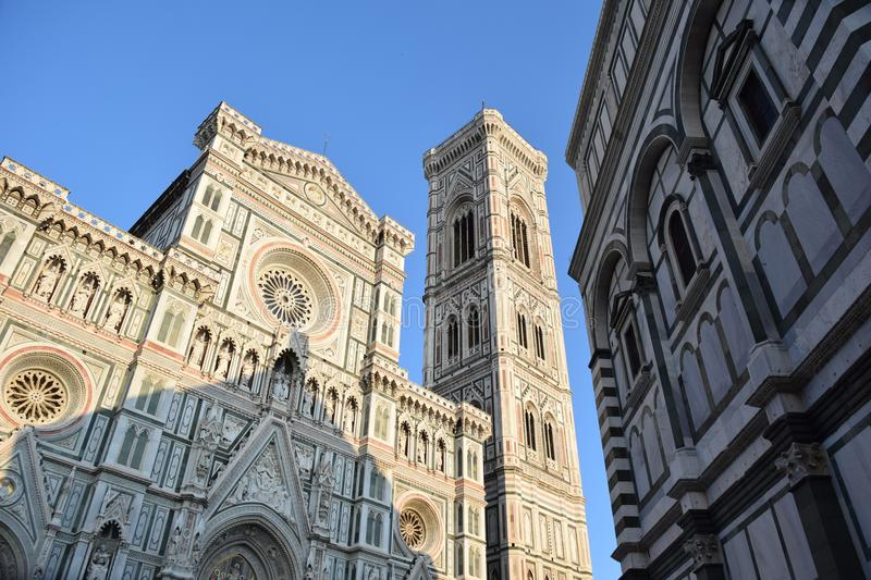 Florence, il duomo stock images