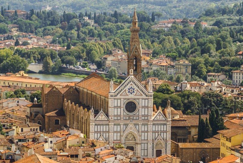 Florence, Italië: panorama royalty-vrije stock afbeelding