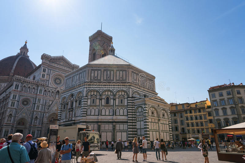 FLORENCE, ITALY - MAY 25: Cattedrale di Santa Maria del Fiore Cathedral of Saint Mary of the Flower stock photography